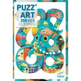 Puzzle Art Octopus 350 pzs., Djeco