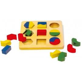 """Puzzle """"Geometría"""", Small Foot"""