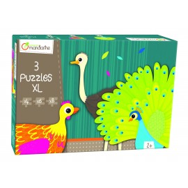 Puzzles Animales con Plumas