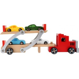 Camión de Transporte de Vehículos, Small Foot