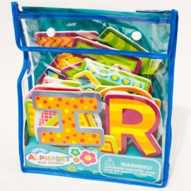 Stickers Baño Alfabeto