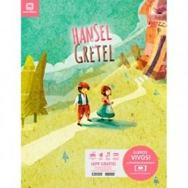 Libros con realidad aumentada hansel y gretel