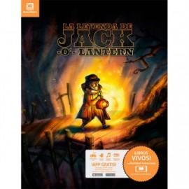 Libros con realidad aumentada jack-o-lantern
