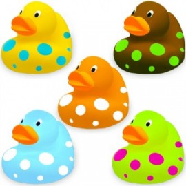 Set de 5 patitos de baño