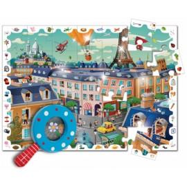 Puzzle detective The city