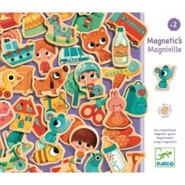Magniville magnético