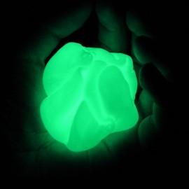 Plastilina inteligente, Criptonita fluorescente