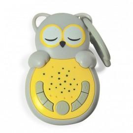 Sweet Dreamz On The Go Grey Owl