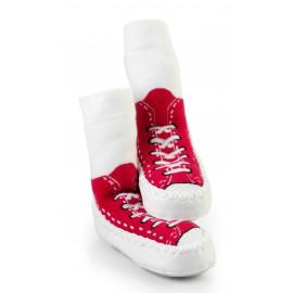 Calcetines antideslizantes Mocc Ons Rojo Zapatillas