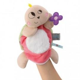 Doudou marioneta Nopnop tortuga