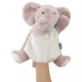 Amis doudou marioneta elefante 30cm