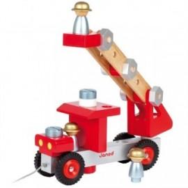 Construye tu camión de bomberos