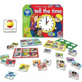 Tell the time, juego de las horas en inglés. Orchard Toys