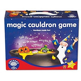 Magic Cauldron Game, juego del caldero mágico en inglés. Orchard Toys