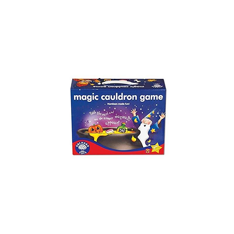 Magic Cauldron Game, juego del caldero mágico en inglés. Orchard Toys