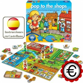 Pop to the shops, juego vamos de compras en inglés. Orchard Toys