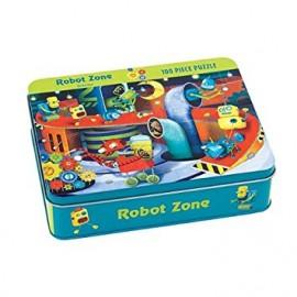 Puzzle coleccionable Robots