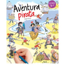 Calca con Scribble Down, Aventura pirata