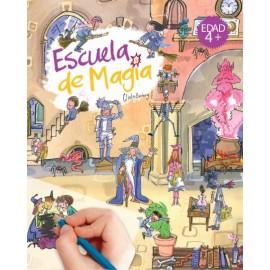 Calca con Scribble Down, Escuela de magia
