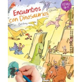 Calca con Scribble Down, Encuentros con dinosaurios