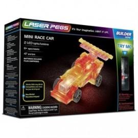 Mini coche de carreras 47 pzas, Laser Pegs