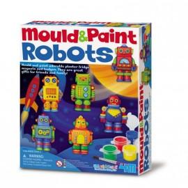 Moldea y Pinta Robots, 4M