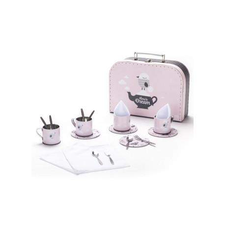 Maletín para tomar el té cooking dreams, Eurekakids