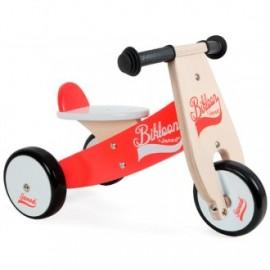 Correpasillos little bikloon rojo y blanco - Triciclo sin pedales, Janod