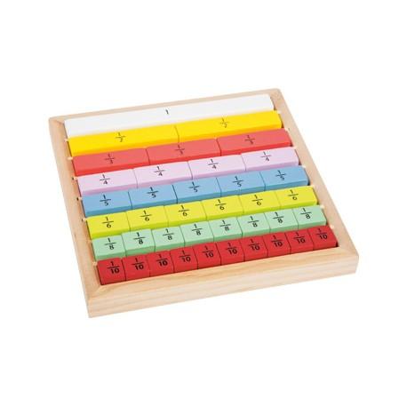 Juego de aprendizaje, Cálculos de fracciones Educate, Small Foot