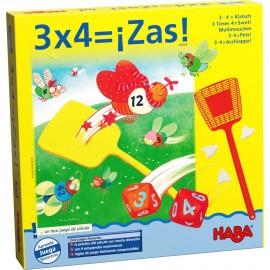 3 x 4  ¡Zas!, Haba