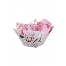 Caja regalo Barquito Rosa, Mi nene