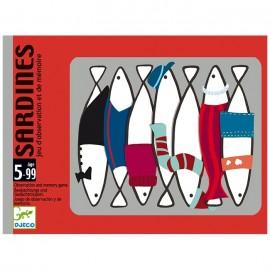 Cartas Sardines, Djeco