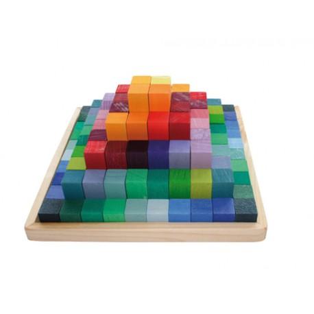 Pirámide escalonada pequeña, Grimm's